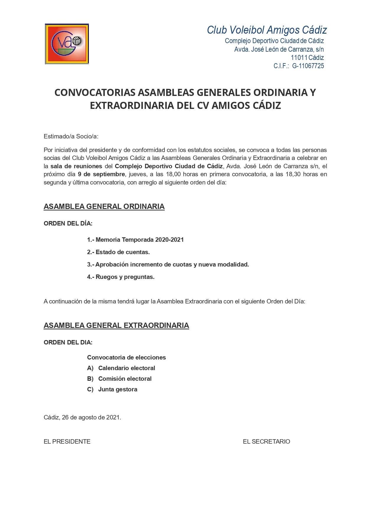 Asambleas Grales ord_ext 2021